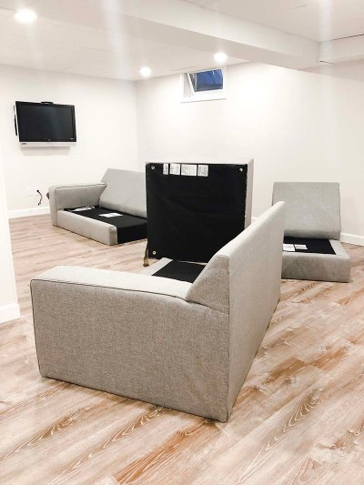 Ashlor Sectional Pieces