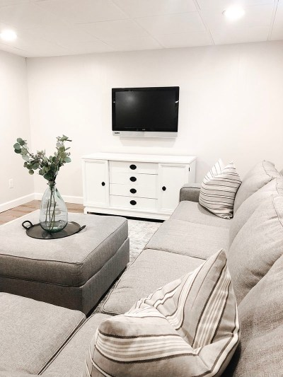 TV Console Couch