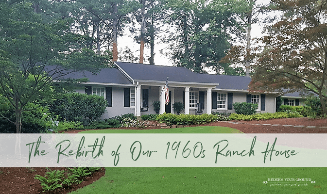 Rebirth: Our 1960s Ranch House Exterior Remodel