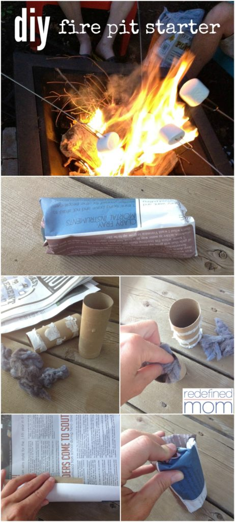 Homemade Fire Starters And Cotton