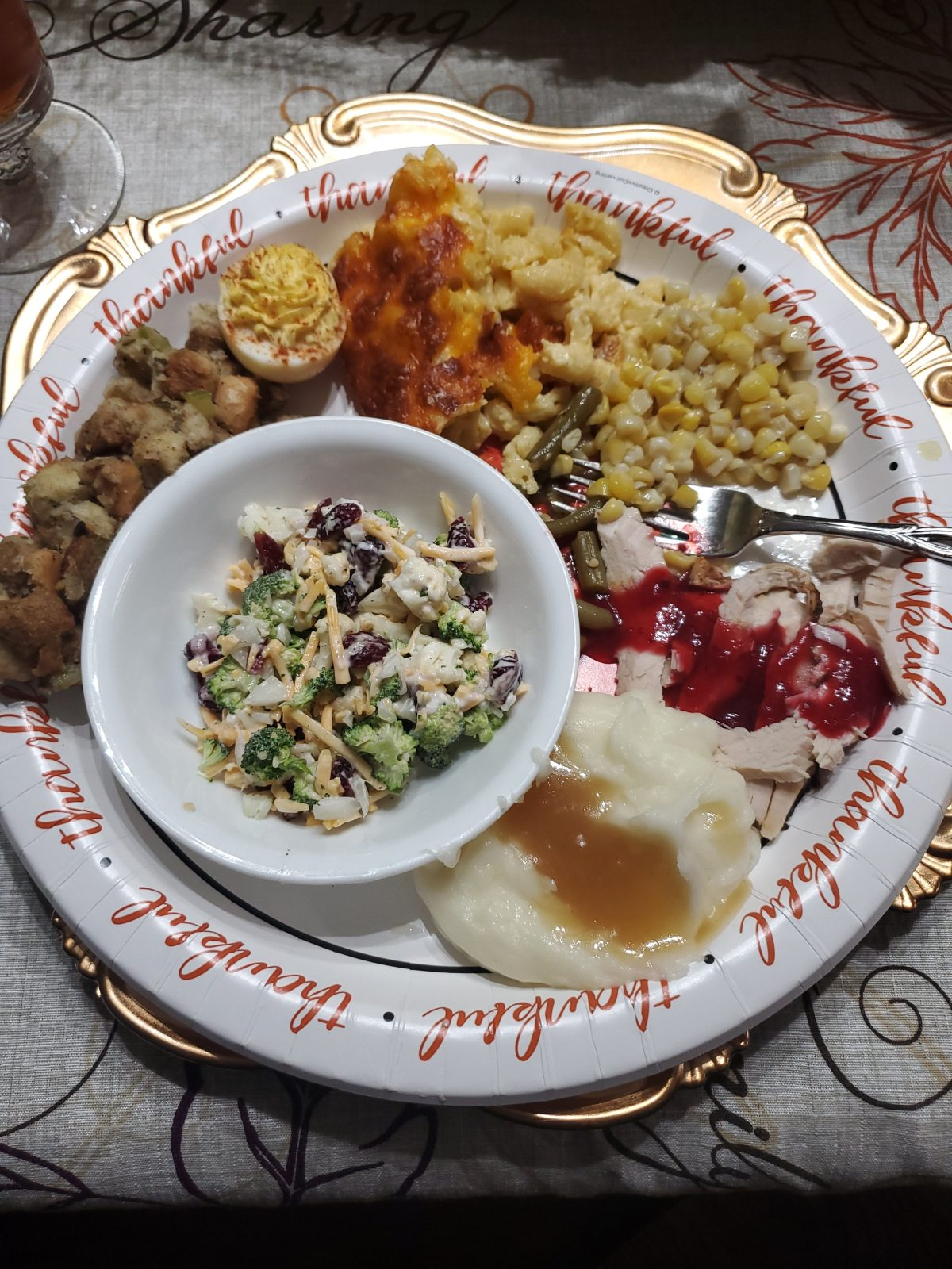 Thanksgiving menu series