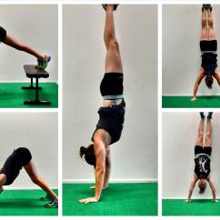 Handstand Chair Space Saving High Strength Isometric Workout Redefining