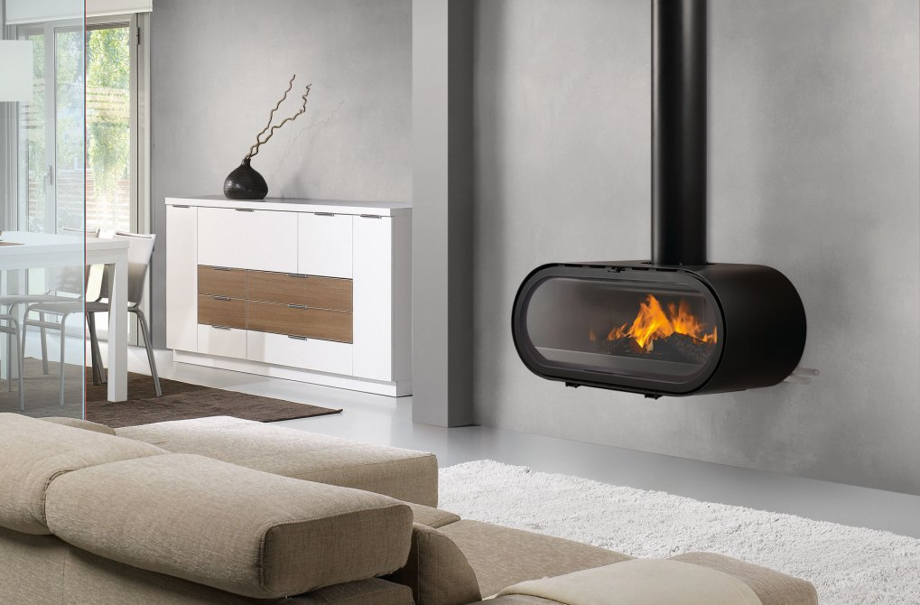 Rocal D8 Wall Wood Stove