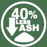 14 40 less ash