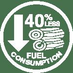 7 40 less fuel