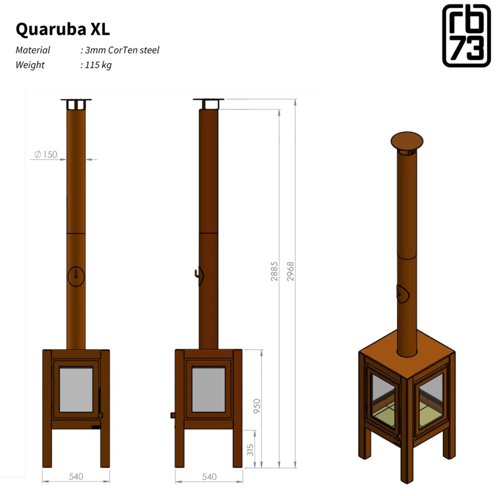 Quaruba XL drawing