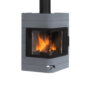 wanders platane wall concrete wood stove