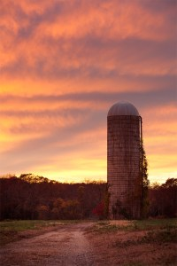 Silo Sunset 2  Baileys Corner Road, Wall Township, New ...