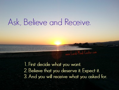 "Is ""Ask and Receive"" Absolute"