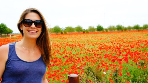 Michelle's first trip to central Texas