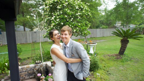 After our bridal shower we got to take some pictures, and things got a little goofy!