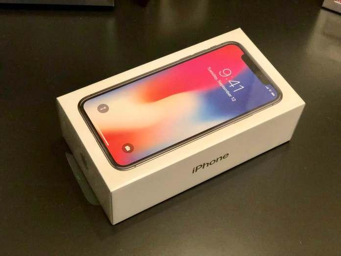 iPhone X sin abrir