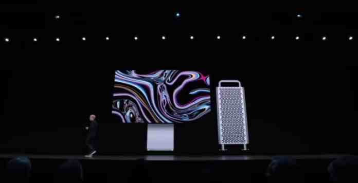 MacPro y Monitor Pro Display XDR en el WWDC19.