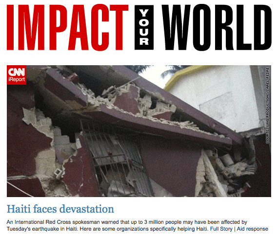 Impact your World - CNN Haiti