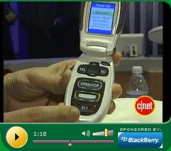 Jitterbug cell phone