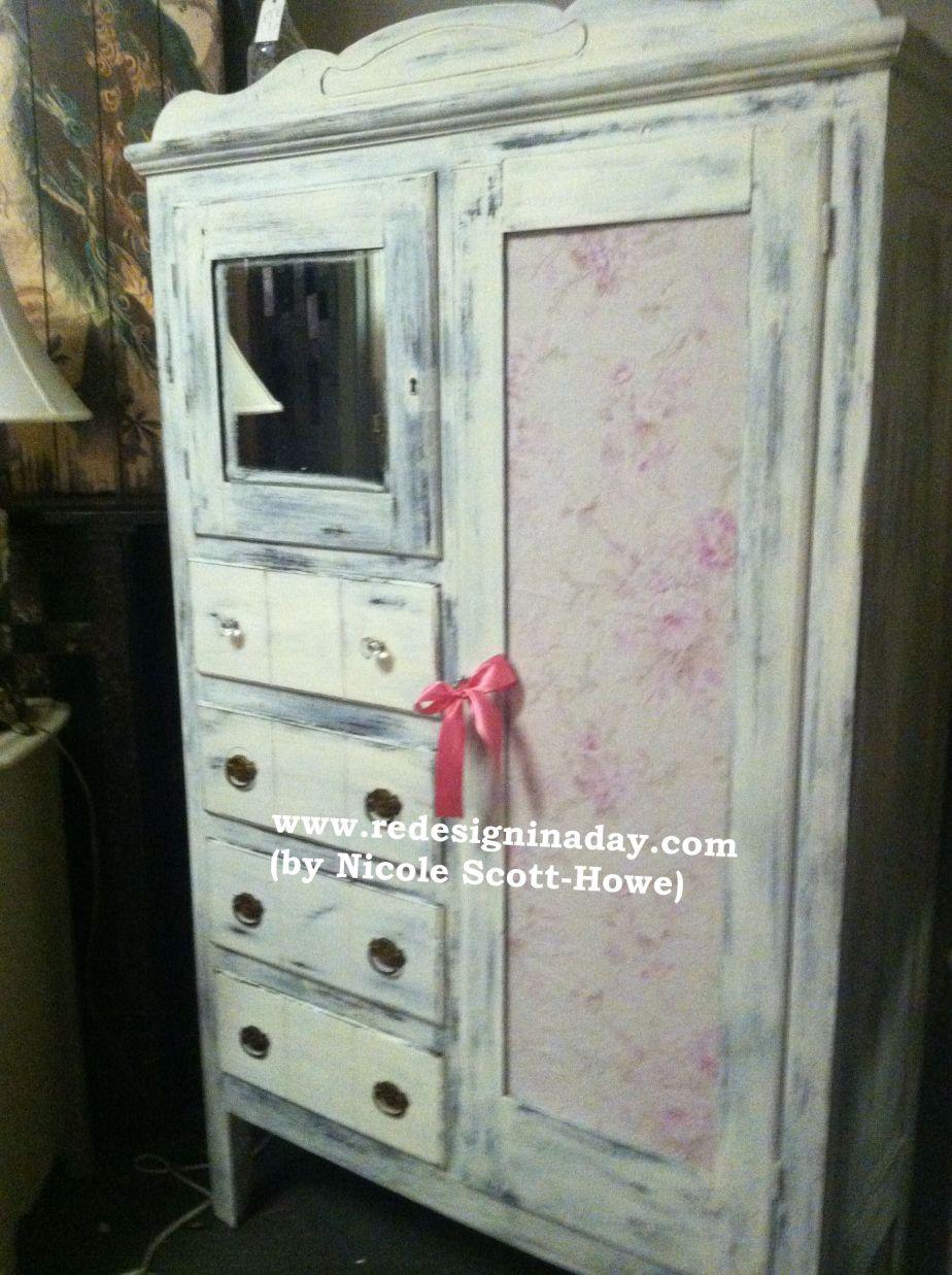 Antique Wardrobe (An American Beauty)