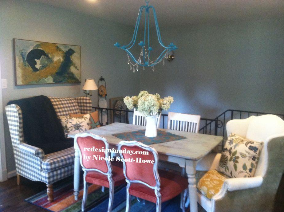 $123 Farmhouse Dining Room!