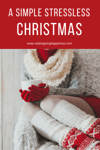 a simple stressless christmas