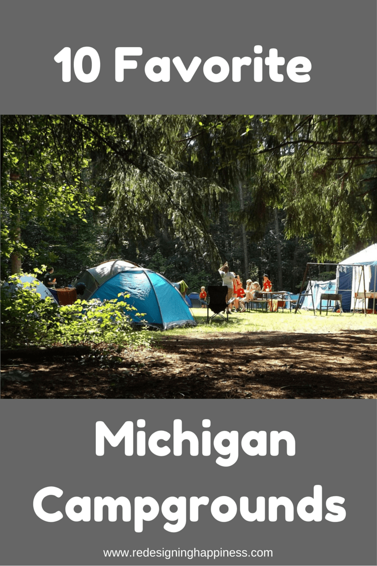 10 Favorite Michigan Campgrounds