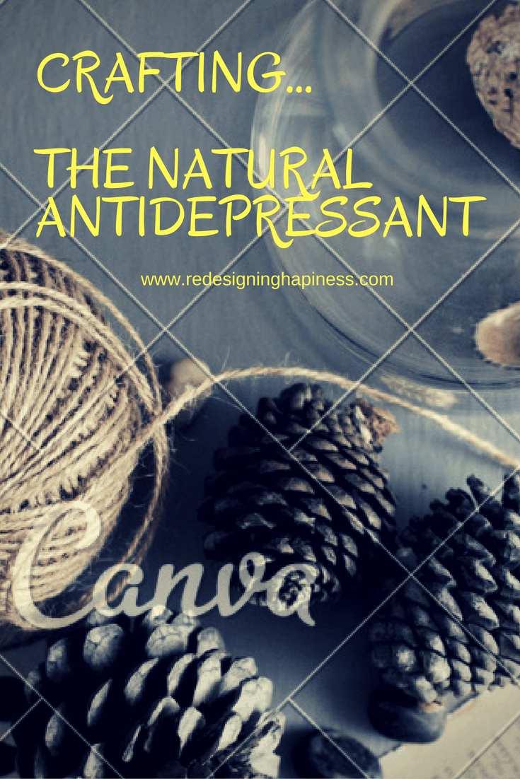 Crafting...The Natural Antidepressant