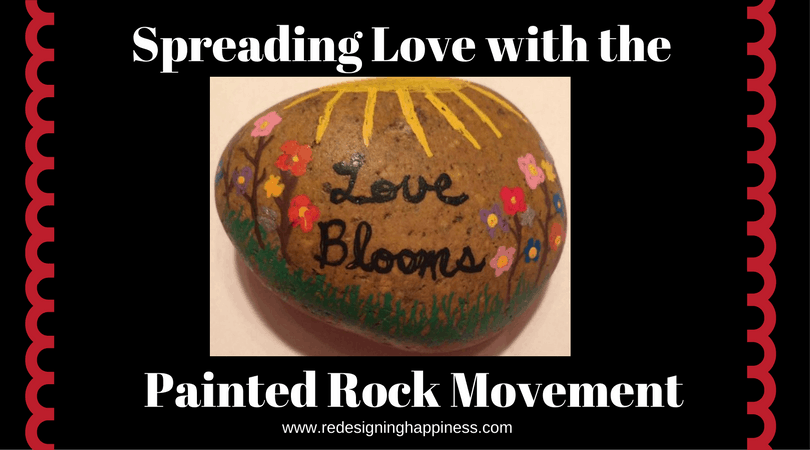 Spreading Love with the Painted Rock Movement