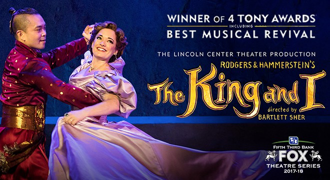 Rodgers & Hammerstein's, THE KING AND I, Ticket Info and Giveaway