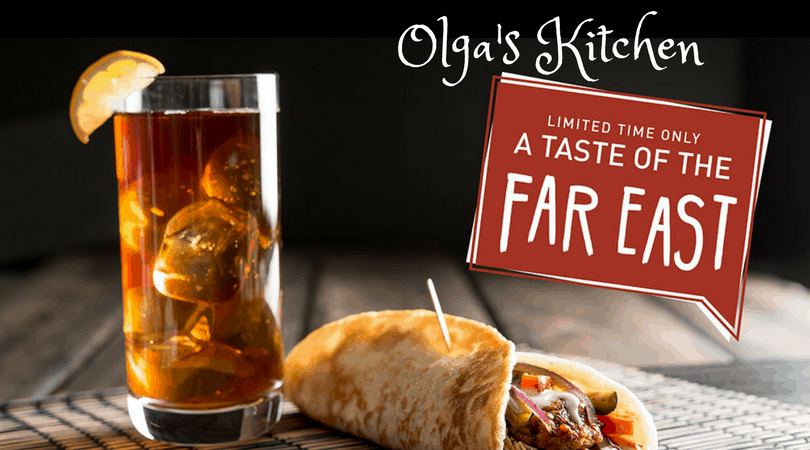 Olga's Kitchen Limited Time Only Taste of the Far East (& Giveaway)