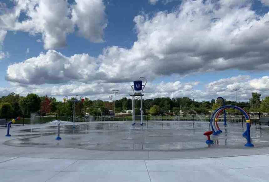 Quirk Park Wayne County's Largest Splash Park