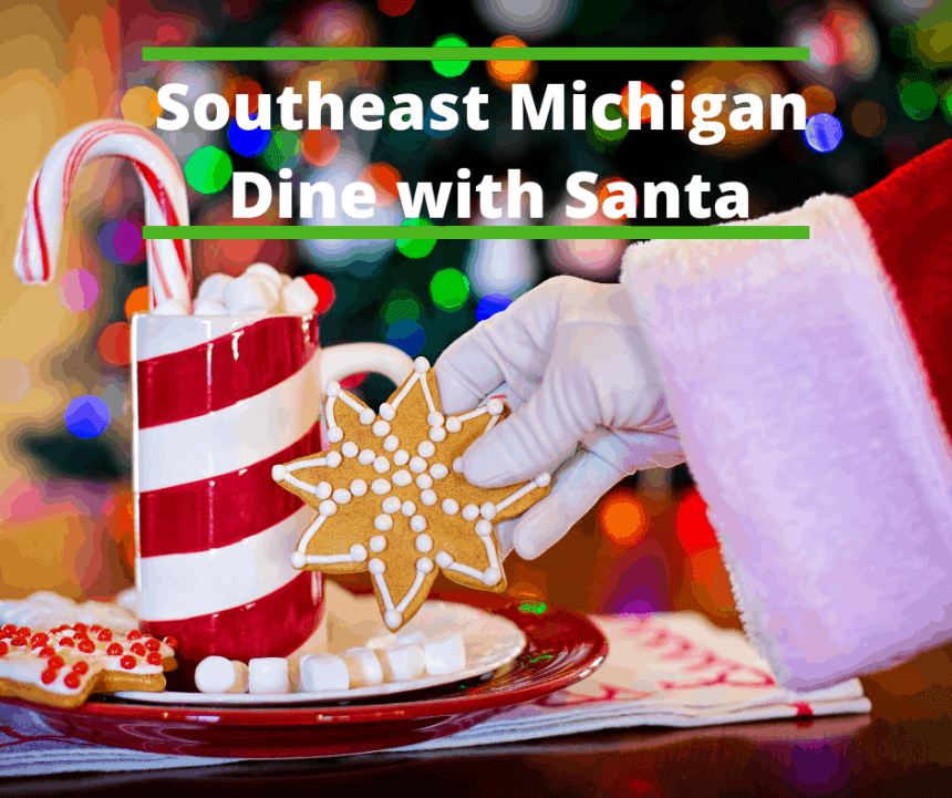 Southeast Michigan Dine with Santa