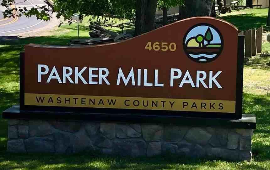 Parker Mill Park - Washtenaw County Park