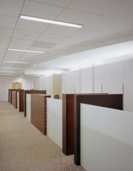 6. OPEN OFFICE MILLWORK DESK