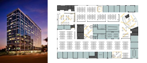 los angeles office space planning
