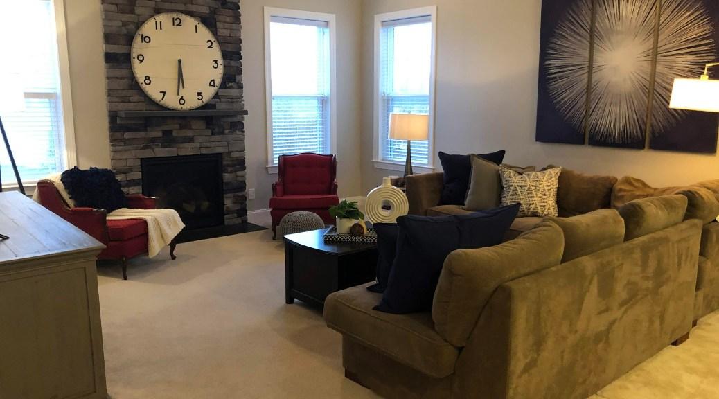 Living Room Redesign After
