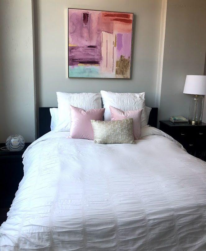 Decorated beddroom