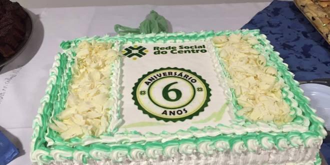Comemoração Rede Social do Centro 6 anos