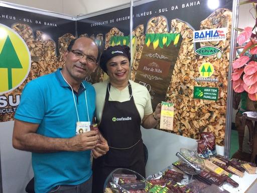 Agricultores familiares também produzem chocolates finos e achocolatados.