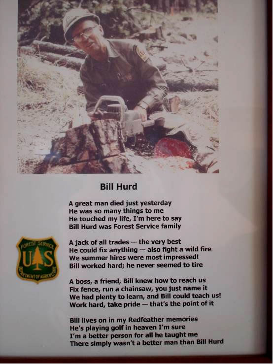 Tribute to Bill Hurd written by one of his Forest Service colleagues.