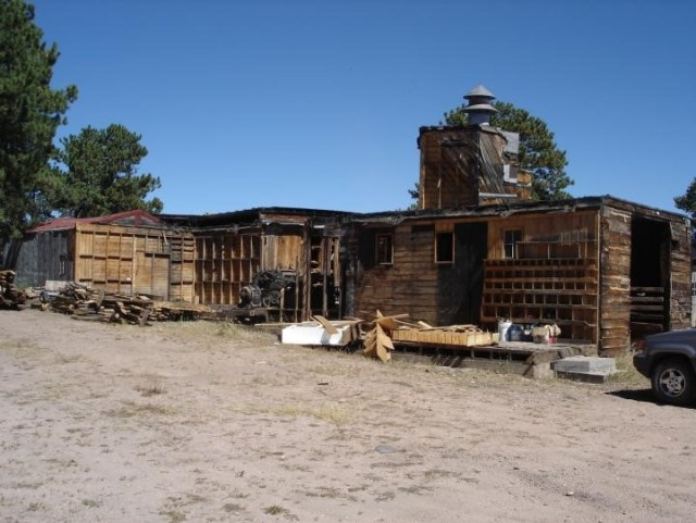 Remaining reminders of Red Feather Lumber and Supply