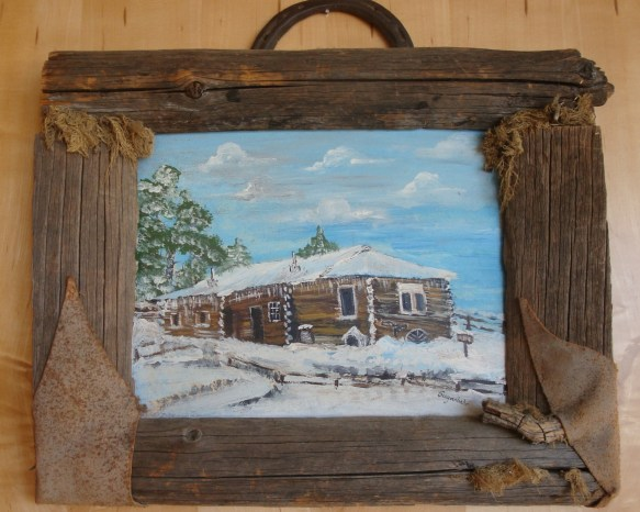 Hardin cabin painted by Sugarbabe Carnival