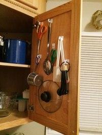 Make-It Monday: Cheap cabinet storage | Red Fork Hippie