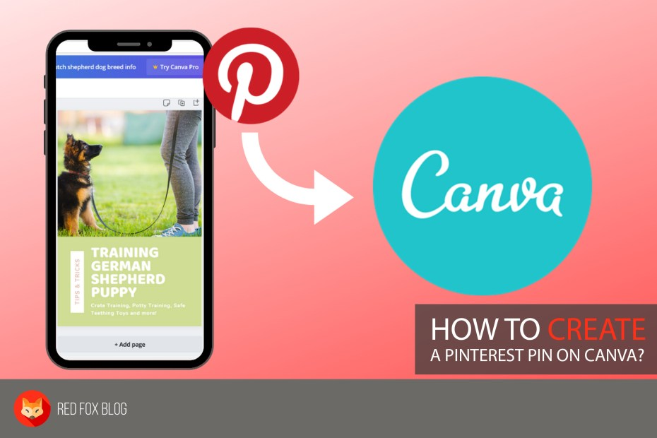 How To Create A Pinterest Pin On Canva
