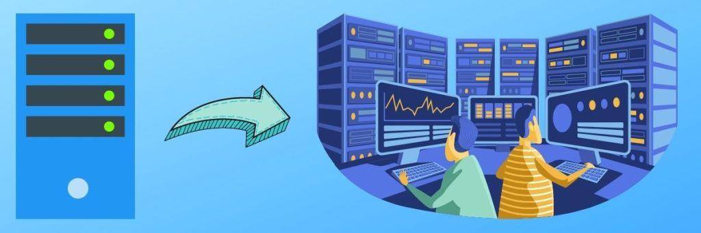 Scalability Upgrade Server