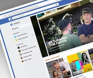 """Facebook launches YouTube competitor ""Watch"""