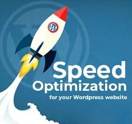 Speed Optimization for your WordPress website