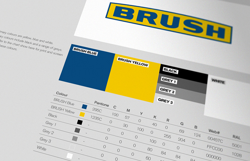 Brush Brand Guidelines Development