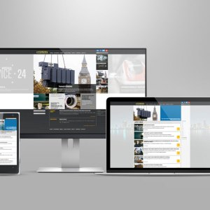BRUSH responsive website design