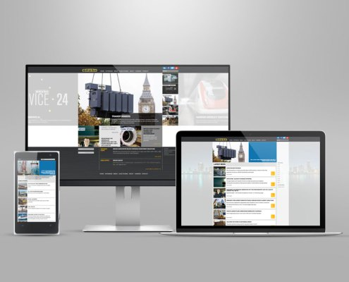 BRUSH responsive website design