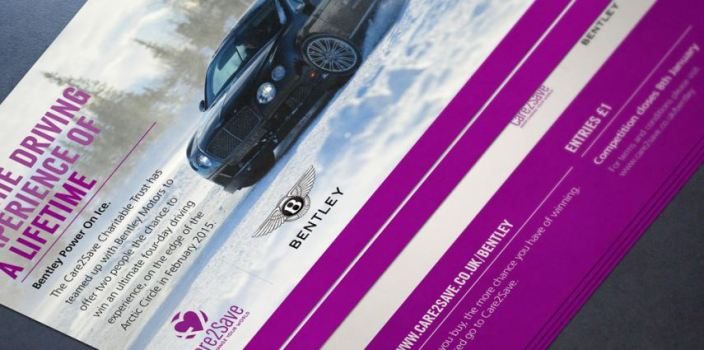 Competition Flyer Bentley Motors Red Fred