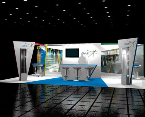 Skytrac Exhibition Stand Design