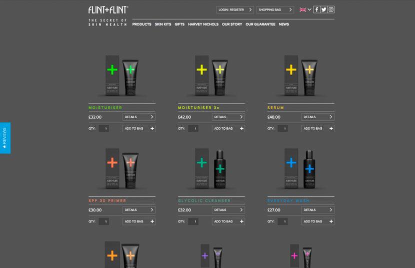 Flint + Flint E-Commerce Site
